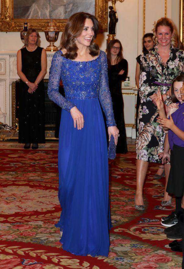 Duchess Of Cambridge Hosts Gala Dinner