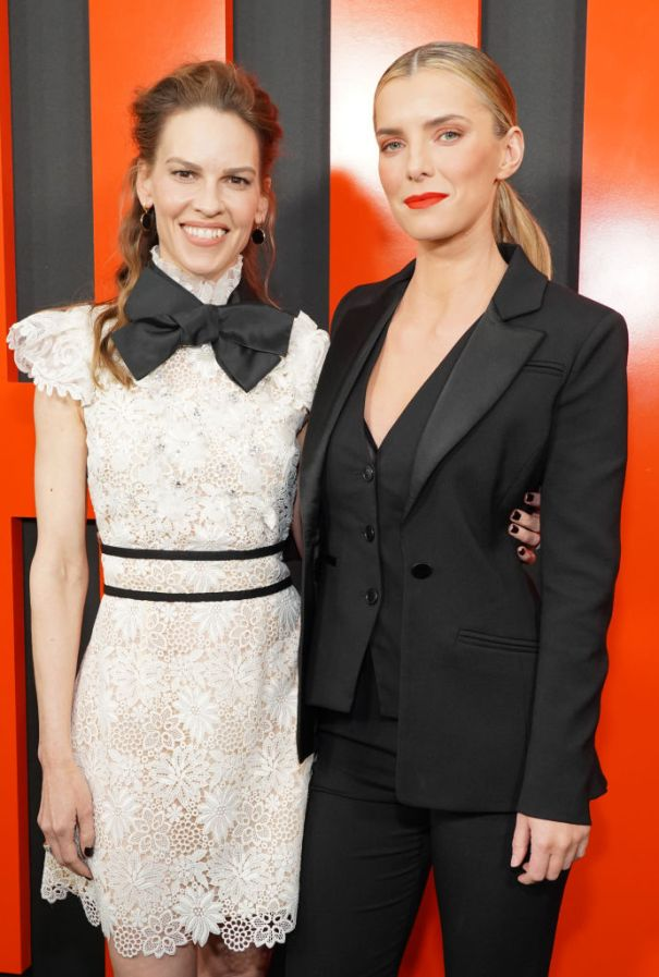 Hilary Swank And Betty Gilpin