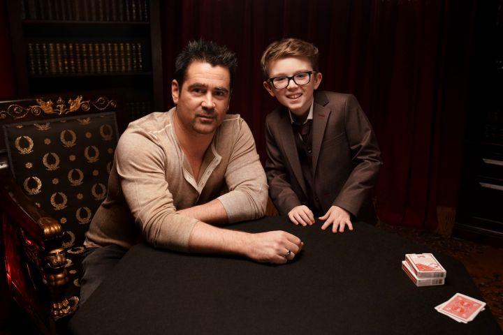 Colin Farrell And Aidan McCann – Sarah Haas/Warner Bros.
