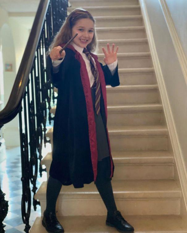 Victoria Beckham's Little Wizard