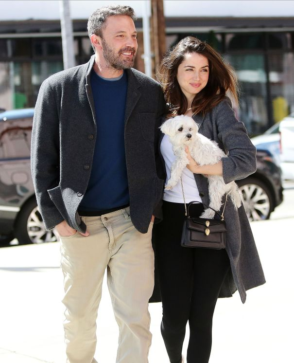 Ben Affleck, Ana de Armas Cuddle Up In L.A.