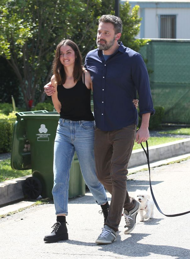 Ben Affleck, Ana de Armas Walk Their Pups In Style