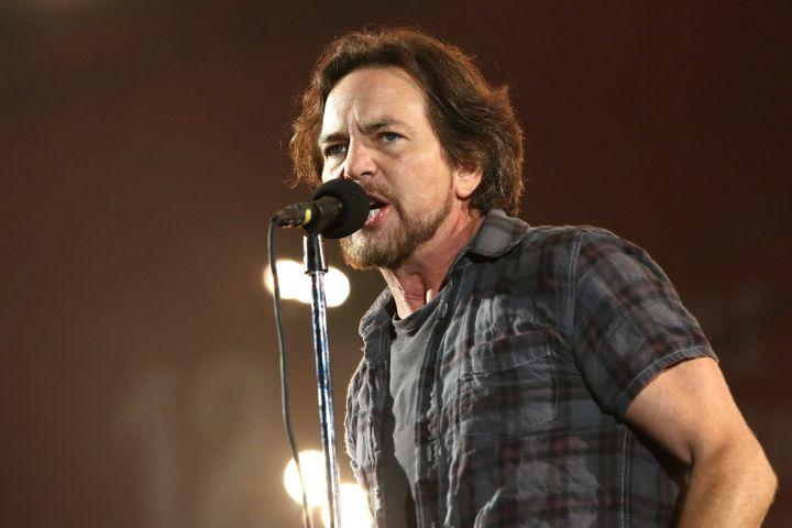 Eddie Vedder. Photo: CPImages