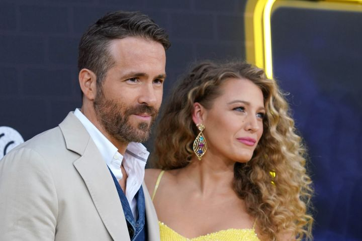 Ryan Reynolds and Blake Lively. Photo: CP Images