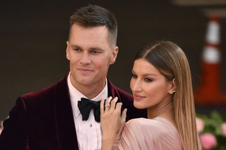 Tom Brady and Gisele Bundchen. Photo: Lionel Hahn/ABACAPRESS.COM/CP Images