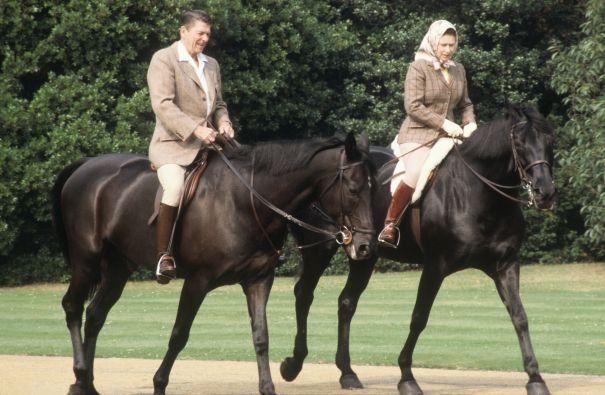 Riding With Reagan 1982
