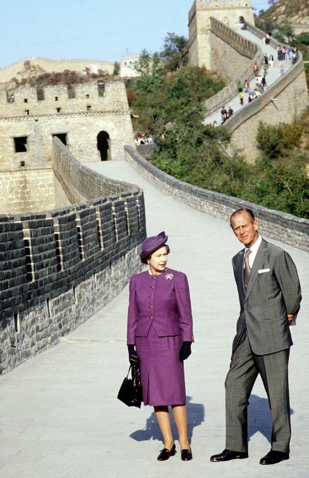 State Visit To China 1986