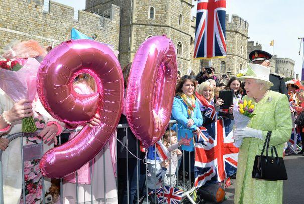 The Queen Turns 90 2016