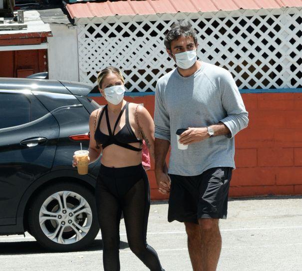 Lady Gaga And Michael Polansky Grab A Coffee