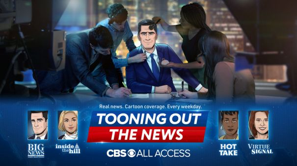 'Tooning Out the News' - Series Premiere