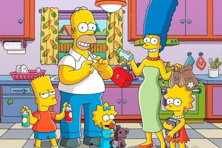 """This image released by Fox shows animated characters, from left, Bart, Homer, Maggie, Marge and Lisa from """"The Simpsons."""" THE CANADIAN PRESS/Fox via AP.HE CANADIAN PRESS/Fox via AP"""