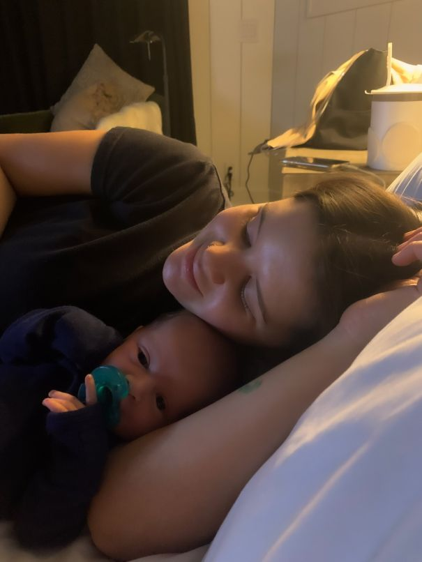 Ryan Hurd Shares Adorable Snap Of Maren Morris And New Baby Boy