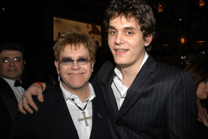 Elton John and John Mayer - Getty Images