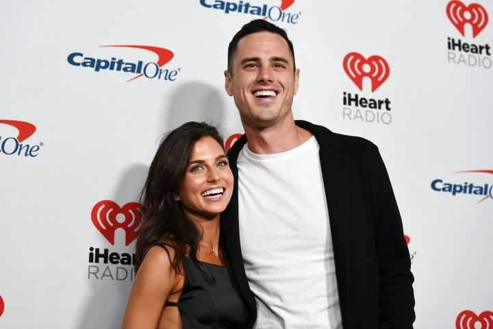 Jessica Clarke and Ben Higgins. Photo: David Becker/Getty Images for iHeartMedia