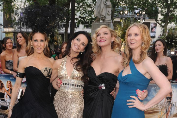 Sarah Jessica Parker, Kristen Davis, Kim Cattrall and Cynthia Nixon. Photo: Rune Hellestad/Corbis via Getty Images