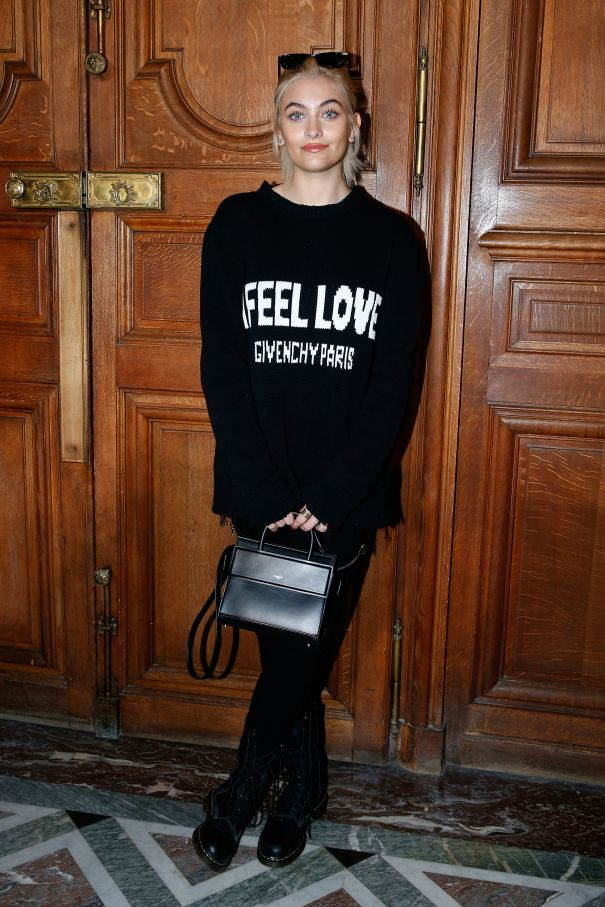 2017: Givenchy Front Row At Paris Fashion Week - Menswear F/W