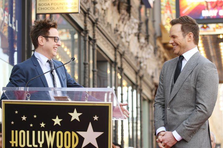 James Gunn and Chris Pratt - Getty Images