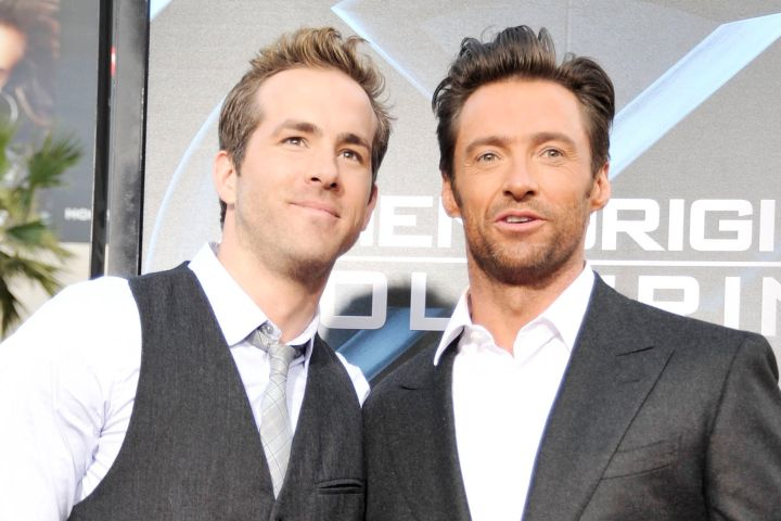 Ryan Reynolds, Hugh Jackman. Photo by Kevin Winter/Getty Images