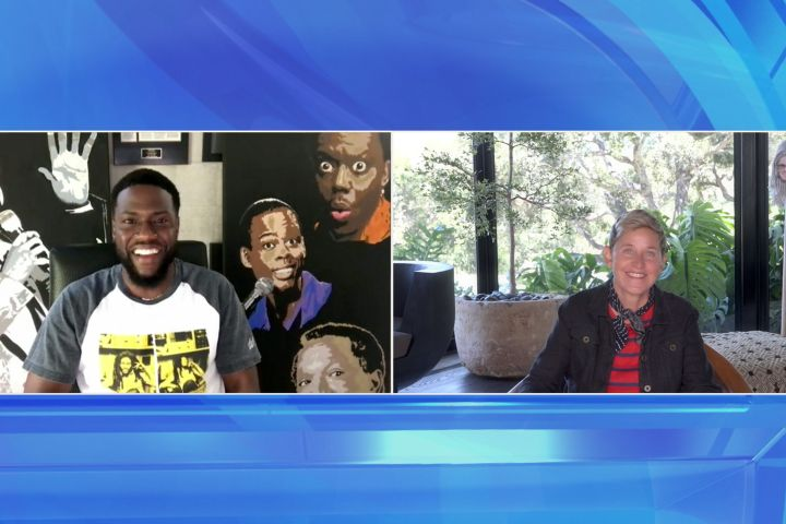 Kevin Hart Shares Details Of His 'Near Death' Backyard Camping Trip