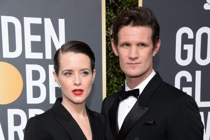 Claire Foy and Matt Smith. Photo: Lionel Hahn/ABACAPRESS.COM/CP Images