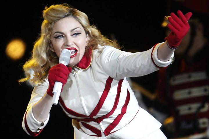 Madonna. Photo: EPA/FELIPE TRUEBA/CP Images