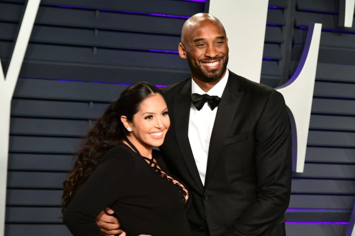 Kobe Bryant and Vanessa Bryant. Photo: CP Images
