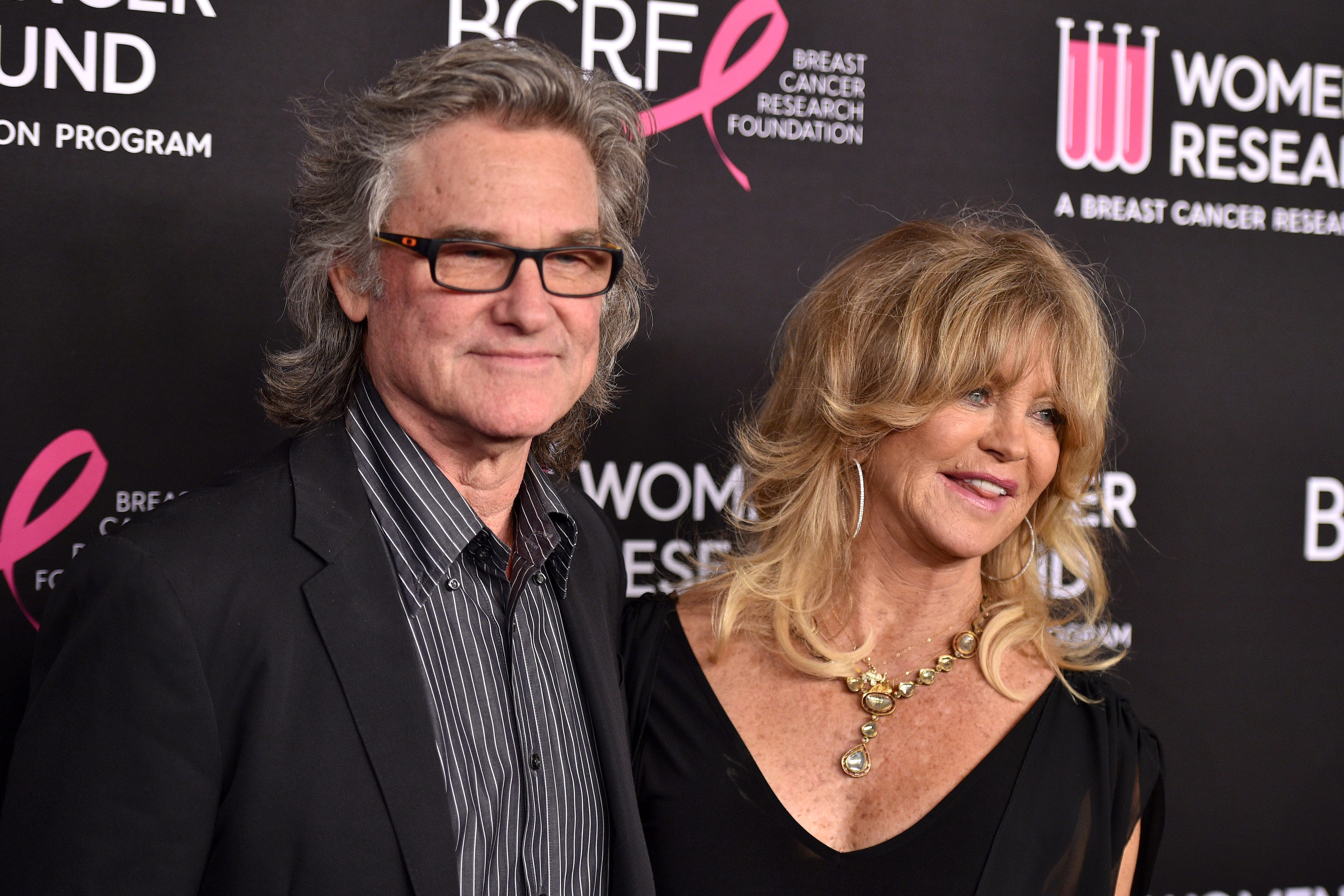 Goldie Hawn Recalls Watching 'Overboard' While in Bed With Kurt Russell
