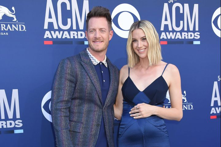 Tyler Hubbard and Hayley Stommel. Photo: CP Images