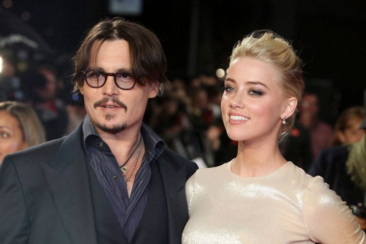 Johnny Depp and Amber Heard. Photo: AP Photo/Joel Ryan/CP Images