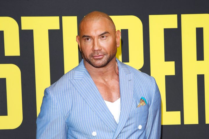 Dave Bautista. Photo: EPA/NINA PROMMER/CP Images