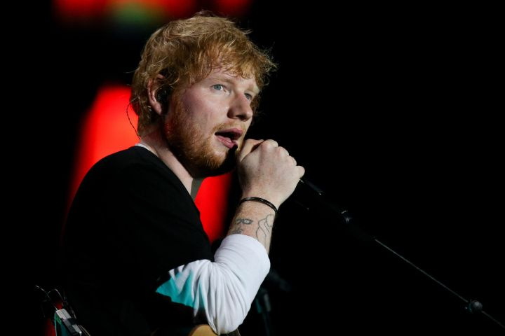 Ed Sheeran. Photo: Sergei Bobylev/TASS/CP Images