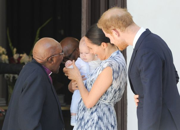 Meeting Archbishop Desmond Tutu