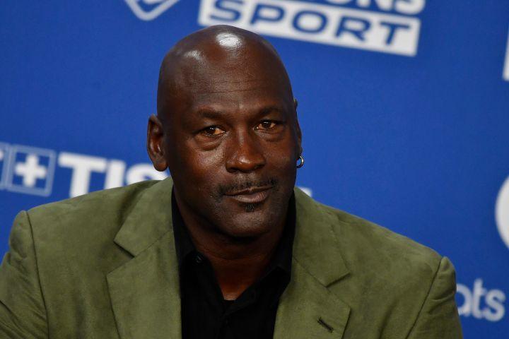 Michael Jordan. Photo: EPA/JULIEN DE ROSA/CP Images