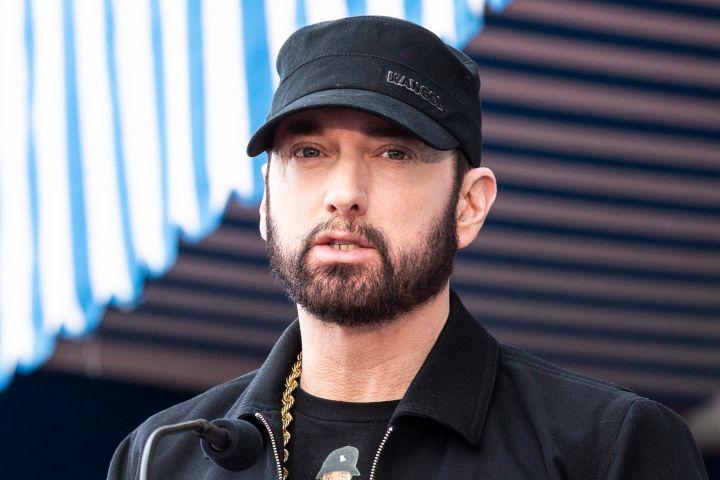 Eminem. Photo: EPA/ETIENNE LAURENT/CP Images