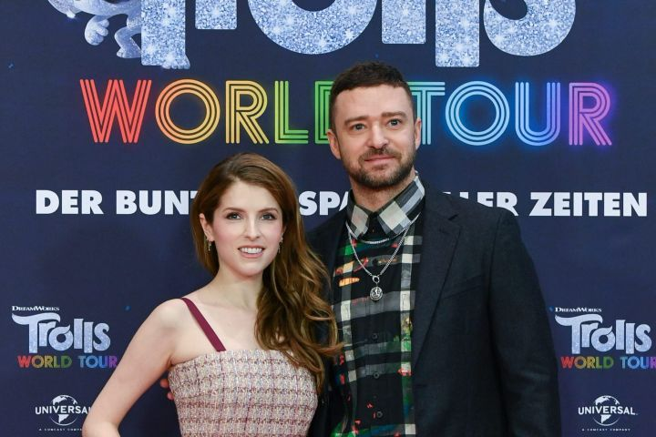 Anna Kendrick and Justin Timberlake. Photo: Jens Kalaene/DPA via ZUMA Press/CP Images