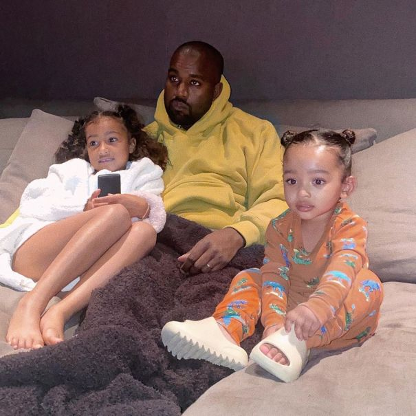 Kanye West And His Girls