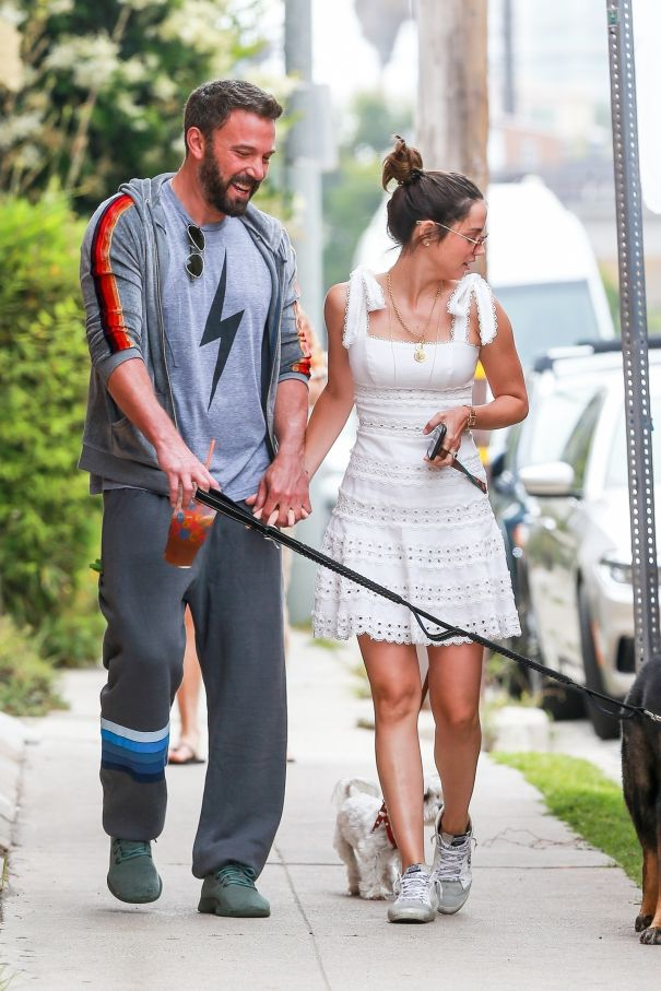 Ben Affleck And Ana De Armas Take A Stroll