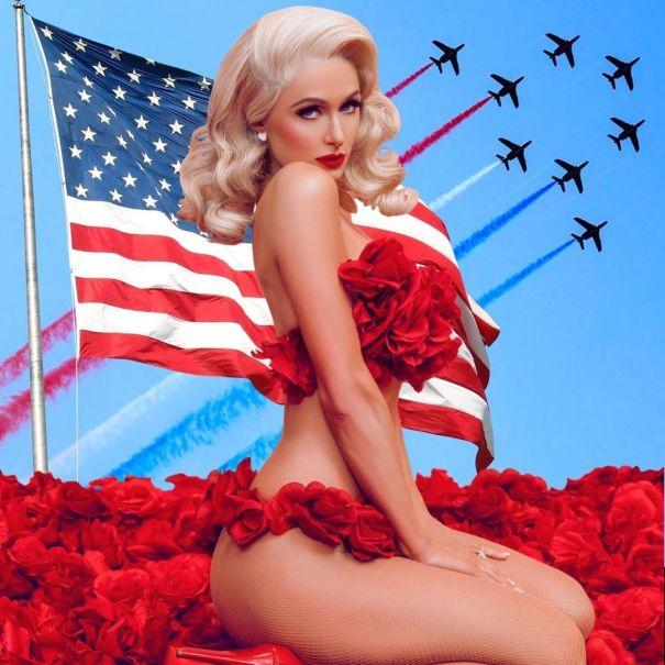 Pin-Up Paris Hilton