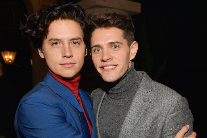 Cole Sprouse and Casey Cott. Photo by Matt Winkelmeyer/Getty Images for GQ