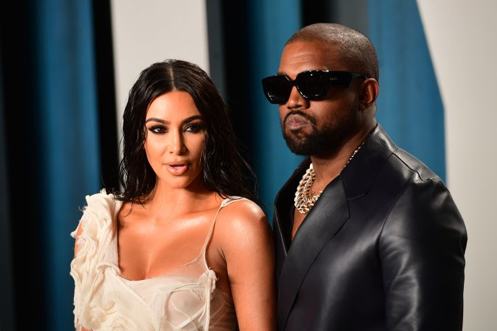 Kim Kardashian and Kanye West - Getty Images
