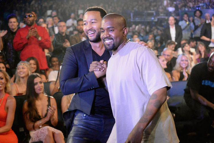 John Legend And Kanye West Have Gone Their Separate Ways, 'It's Just Part Of The Natural Cycle Of Life'