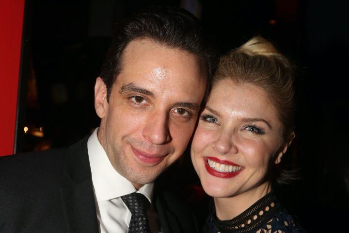 Nick Cordero and Amanda Kloots. Photo: Bruce Glikas/FilmMagic/Getty Images