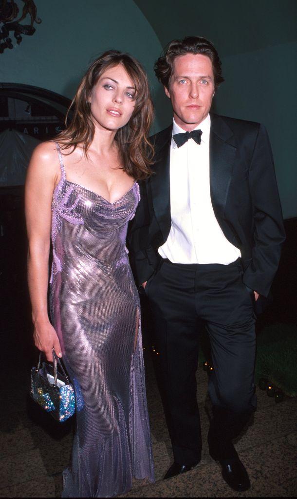 Elizabeth Hurley and Hugh Grant (Photo by KMazur/WireImage)