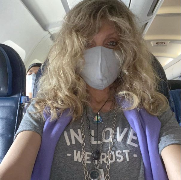 Marla Maples Travels Amid Pandemic