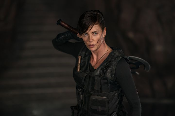 THE OLD GUARD - CHARLIZE THERON as ANDY  Photo credit:  Aimee Spinks/NETFLIX ©2020