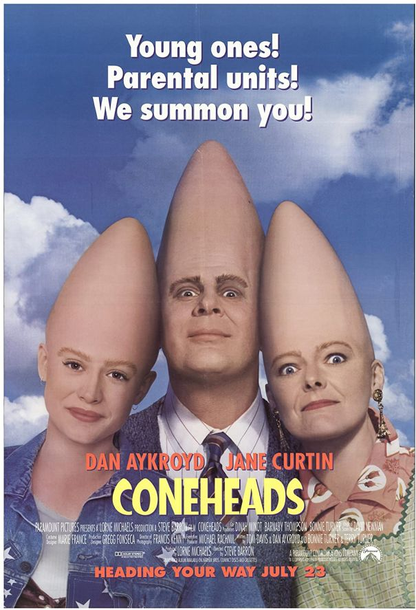 6. 'Coneheads'