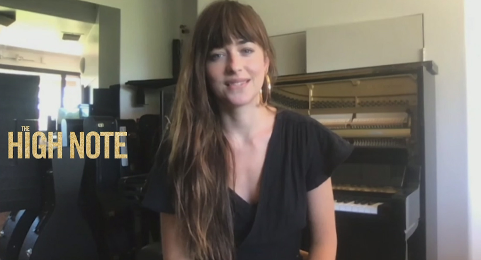 Dakota Johnson Says She Tries 'Not To Care What People Think' As She Talks New Movie, Directing Coldplay Video
