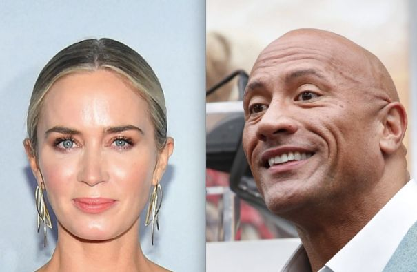 Emily Blunt And Dwayne Johnson To Headline 'Ball And Chain'