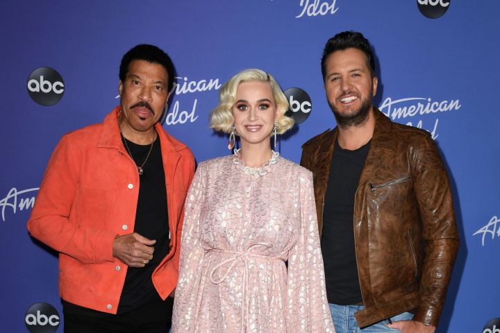 Lionel Richie, Katy Perry and Luke Bryan. Photo: Jon Kopaloff/Getty Images
