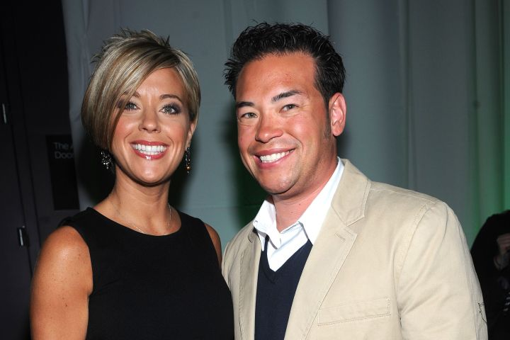 NEW YORK - APRIL 02: Kate Gosselin and Jon Gosselin attend Discovery Upfront at Jazz at Lincoln Center on April 2, 2009 in New York City. (Photo by Brad Barket/WireImage for Discovery Communications)
